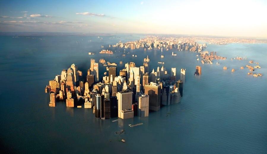 حقائق مروعة ارتفاع مستوى مياه