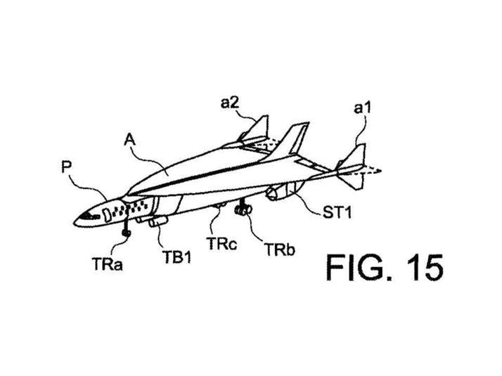 """""""إيرباص"""" سجلت براءة اختراع لطائرة يمكنها التحليق من لندن إلى نيويورك في ساعة واحدة فقط"""