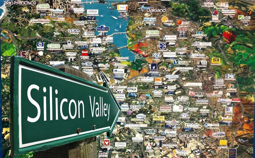 نتيجة بحث الصور عن وادي السيليكون