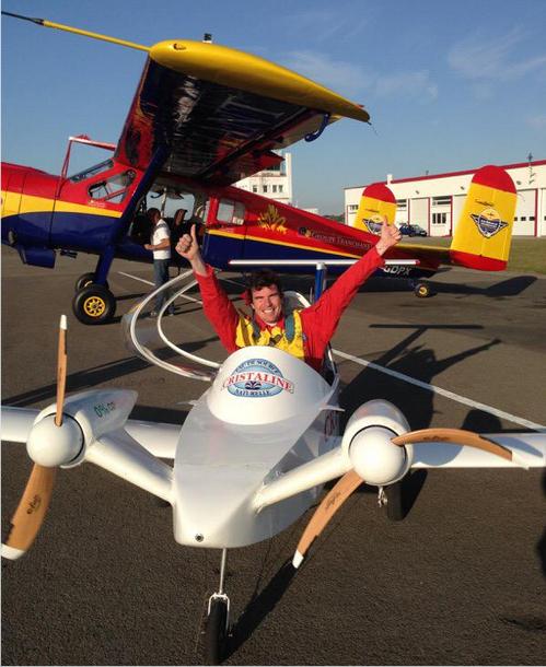 بالفيديو والصور: نجاح أول تحليق لطائرة كهربائية في العالم