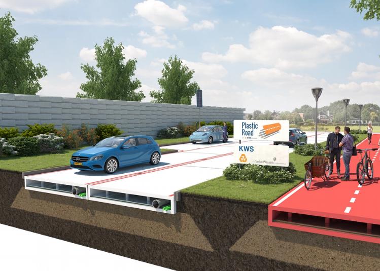 بالصور: هل تصبح هولندا أول دولة في العالم تمهد الطرق بالبلاستيك بدلاً من الأسفلت؟